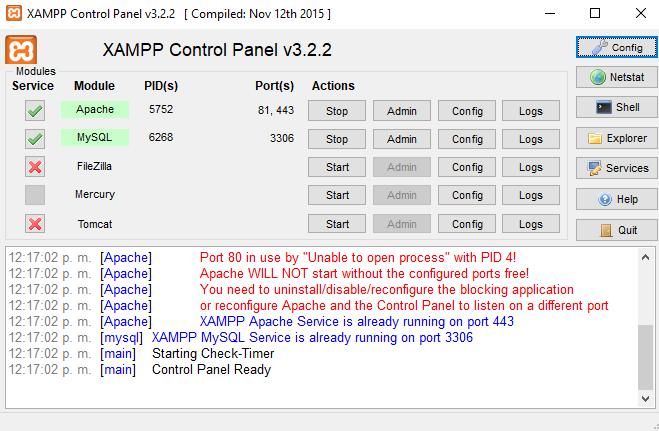 ¿Cómo resolver el error XAMPP Apache server has wrong path?